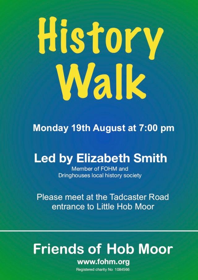 History walk 190819